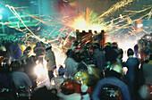 Yenshui fireworks festival, Yenshui, Tainan County Taiwan, Asia