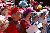 Chorus at Klondike Days, Edmonton Alberta , Canada