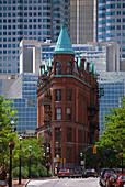 Flatiron Building, Church Street, Toronto, Ontario, Canada, North America, America