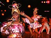 Singer at Tropicana Cabaret, Havana, Cuba, Carribean, America