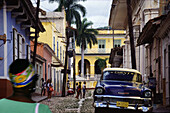 Streetlife in Trinidad, Cuba, Carribean