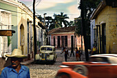 Citylife in Trinidad, Cuba, Carribean