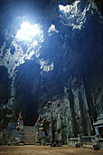 Cave temple at Marble Mountains, Da Nang, Vietnam, Asia