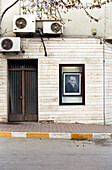 Portrait of Mustafa Kemal Atatürk in display, Prince Island, Istanbul, Turkey
