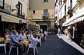 Outdoor Cafe in Sorrento, Campania, Italy