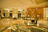 Empire Hotel Lobby, The Empire Hotel & Country Club, Darussalam, Brunei, Asia
