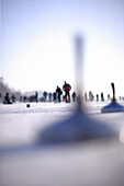 People curling at Starnberger See