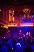 People, Paradiso, Concert Hall and Club, Young people dancing at Paradiso, a concert hall and club near Rembrandtplein, Amsterdam, Holland, Netherlands