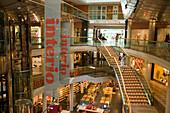 View inside the shooping centre Ringstrassen Galerien, Vienna, Austria