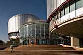 Palais des Droits de l'Homme, European Court for Human Rights, Strasbourg, Alsace, France