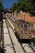 Funicular railwayto Castle Hill, Funicular railwayto Castle Hill, Buda, Budapest, Hungary