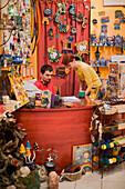 People in a Toy Shop, People in a Toy Shop at Raday Street, Pest, Budapest, Hungary