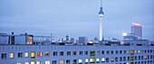 View to Alexanderplatz, Berlin, Germany