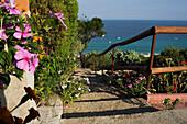 Holiday resort, Costa Rei Sardinia, Italy
