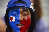 Japanese football fan