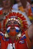 Soccer fan from the Netherlands