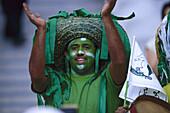 Soccer fan from Saudi Arabia