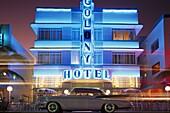 Colony Hotel, Art Deco District, Miami, Florida, USA, America