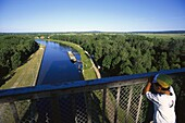River Oder, Niederfinow, Brandenburg, Germany