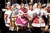 Puppets, Havelske Street Market, Old Town, Prague, Czechia