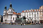 Jan Hus Statue, Staromestskenam, Prague, Czechia