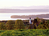 View to Starnberger See, Upper Bavaria, Germany