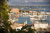 View insinde the main port of Piraeus, the harbour of Athens, Pireas, Athens-Piraeus, Greece