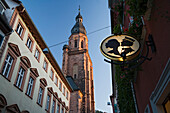 Church of the Holy Spiritit, Old Town, Heidelberg, Baden-Wuerttemberg, Germany