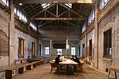 Architekturbüro Architekt Deng Kunyan,architect office, loft in converted factory, Souzhou Creek, Architekurbüro, Büro