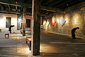 Gallery in Souzhou Creek Art Center, Shanghai