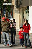 Shopping, Huaihai Xilu,intersection Huaihai Xilu, shopping, people, pedestrians, consumer, consum