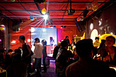 Maoming Lu,Bar in Maoming Lu, Night life, life music, strip of bars, crowd, table dance