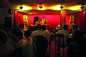 Maoming Lu,Bar in Maoming Lu, Life Music, Jazz, Nightlife, live music, strip of bars, crowd