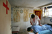 massage in backyard room, old town, Lao Xi Men, Shanghai
