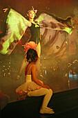 creative fashion show, Thai Gallery, young ballett girl watches