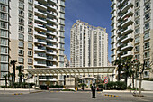 Pudong,Wohnkomplex, residential estate, luxury apartments, Luxuswohnungen, Pudong