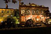 Ruijin Guest House, restaurant,Luxury hotels, exterior, night shot, historic villa