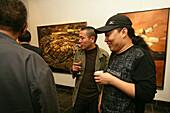 Vernissage Art Gallery,Paintings of painter Duan Zhengqu, Bilder, Ausstellungseröffnung