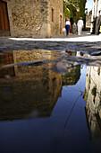 Costa Brava,Middle-Aged Town Peratallada Costa Brava, Catalonia Spain