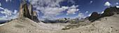 Tre Cimo di Lavaredo (3100m), Dolomiti di Sesto Natural Park, Trentino-Alto-Adige, Italy