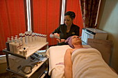 Stone Therapy in Freedom Day Spa on Deck 11,Freedom of the Seas Cruise Ship, Royal Caribbean International Cruise Line