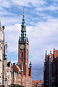Town Hall in Gdansk - Old Town, Danzig, Poland