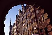 Green Gate and Dlugi Targ Street in Gdansk, Danzig, Poland