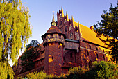 Castle of the Teutonic Knights in Malbork (13th - 14th century), Poland
