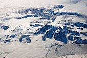 Mountains and glaciers, Spitsbergen, Norway