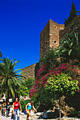 Fortification,Salida al Haza,Alcazaba,Malaga,Andalusia,Spain