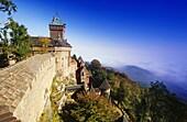 Castle Haut-Koenigsbourg,Elsass,France