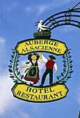 """""""Auberge Alsacienne"""" in Eguisheim,Elsass,France"""