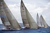 J-Class Cutters,Antigua Classic Yacht Regatta, Antigua