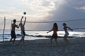 Beachvolleyball in Puglia, Italy